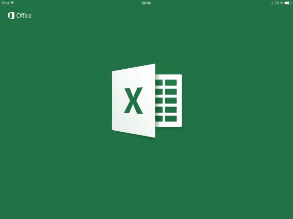 MS Excel für iPad
