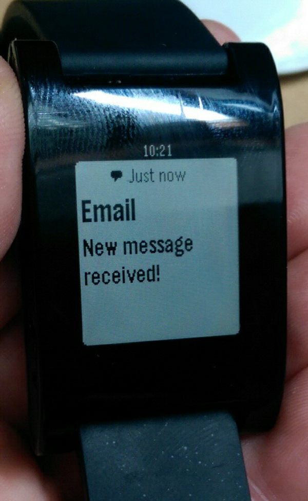 Hurra, neue Mail ist da. Aber von wem?