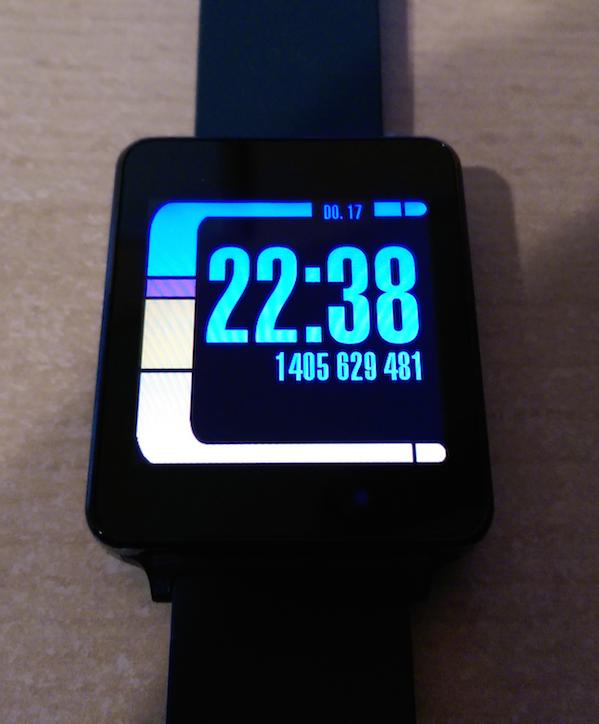 Da schlägt das Star Trek Next Gen Herz höher: LCARS-Design als Watchface fpr Android Wear
