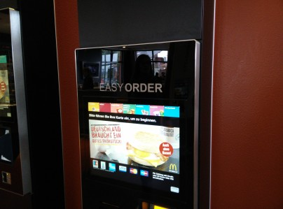Easy Order - die neuen Bestellautomaten bei McDonald's